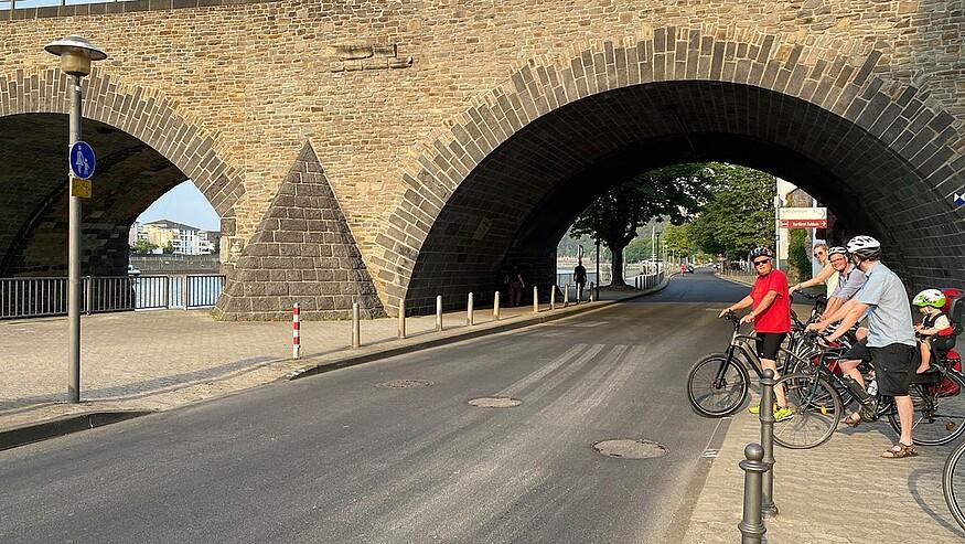 Umsetzung des Koblenzer Verkehrsentwicklungsplans 2030: GRÜNE wollen Radverkehrsachse Innenstadt – Kesselheim