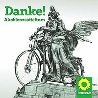 Vielen Dank für das Vertrauen – Koblenz sattelt um!