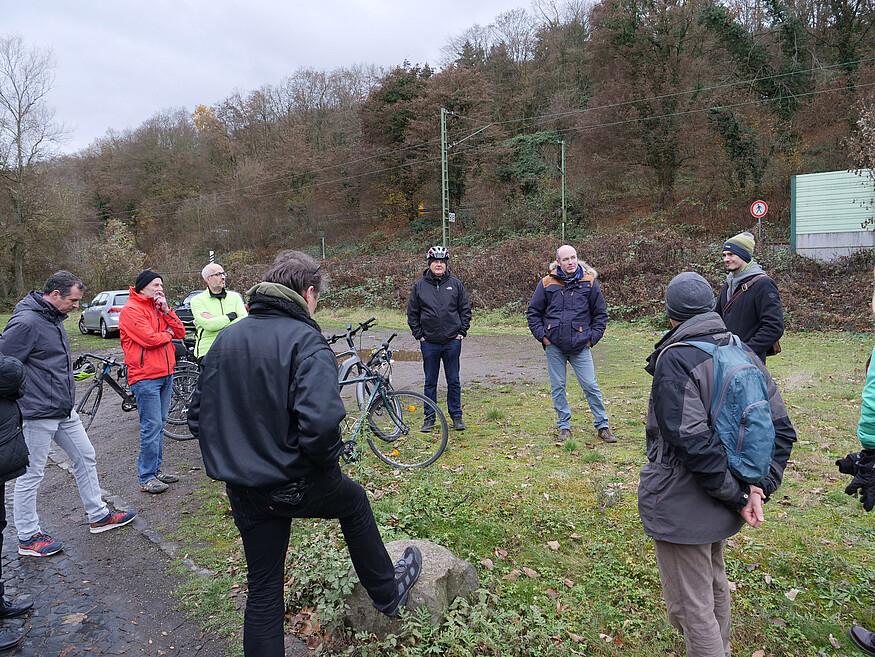 GRÜNE informieren sich vor Ort in KO Stolzenfels: Rheinradweg soll endlich Radkomfortroute werden
