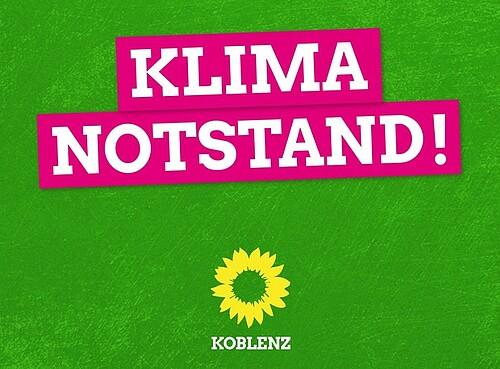 Koblenz erklärt den Klimanotstand