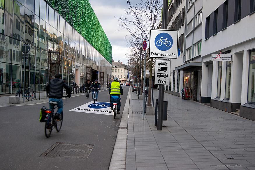 Casinostrasse muss zur Fahrradstraße werden